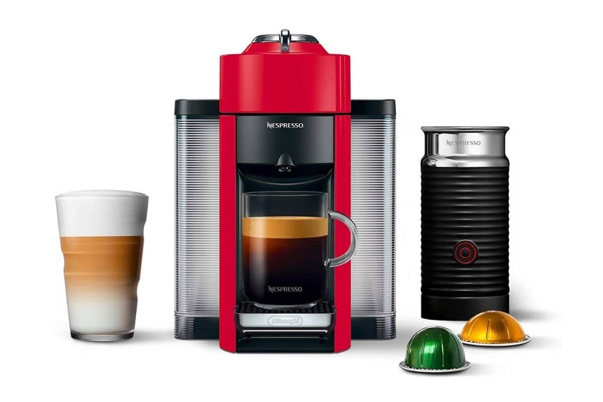 Nespresso Vertuoline With Aeroccino Plus Automatic Milk Frother