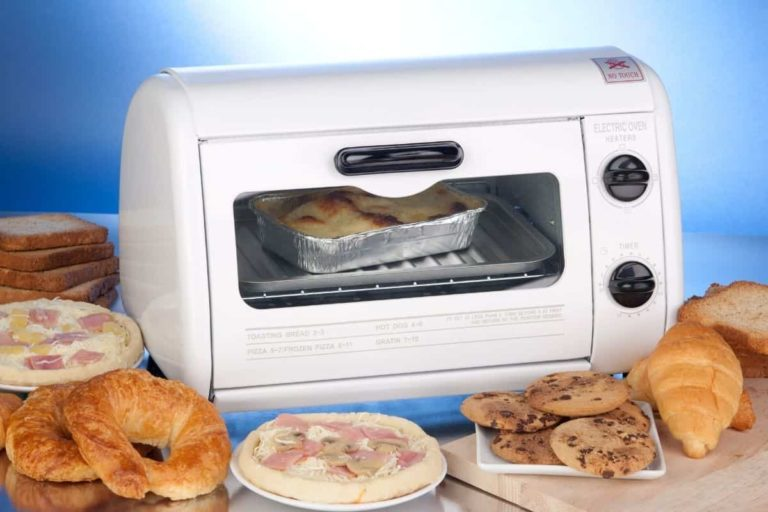 When was the toaster oven invented