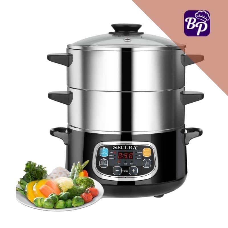 Secura BPA free electric food steamer