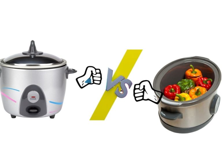 Difference between rice cooker and slow cooker