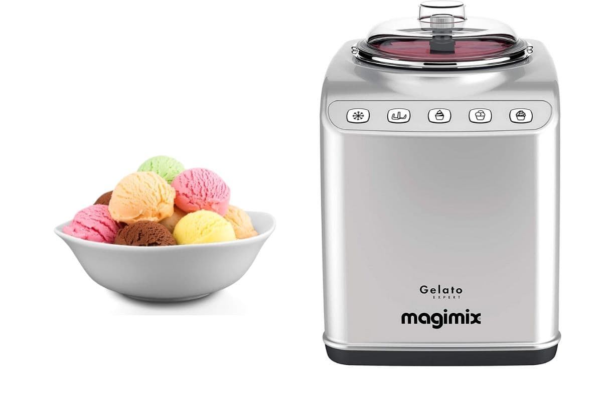 Magimix ice cream maker