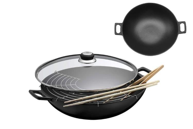 WMF cast iron wok review