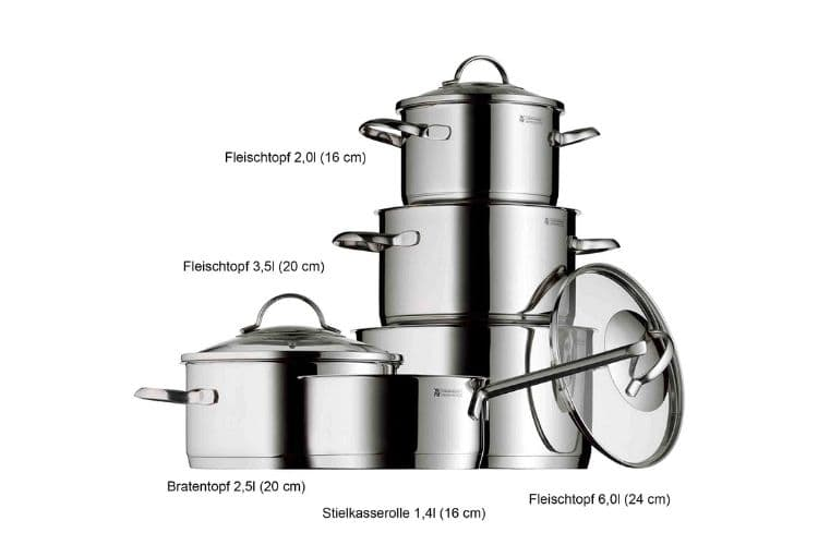 WMF stainless steel cookware