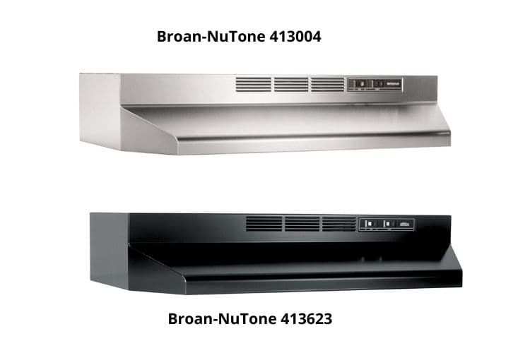 Broan-NuTone 413004 recirculating kitchen hood