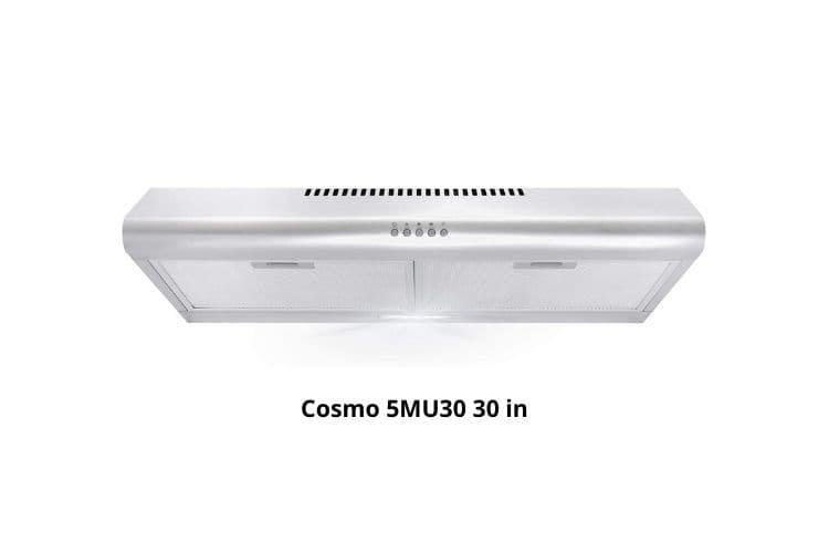 Cosmo 5MU30 under cabinet range hood