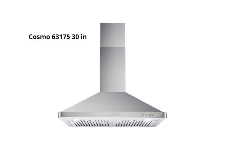Cosmo 63175 wall mount range hood - self ventilating range hood