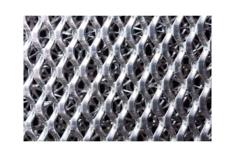 Stainless steel permanent range hood filters